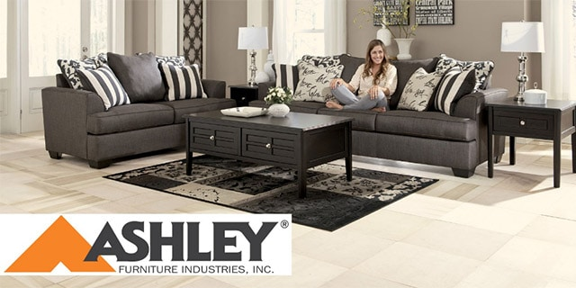 Ashley furniture. Rite-Way has sold Ashley Furniture in Freeport for 30 years, before there were Ashley Homestores.